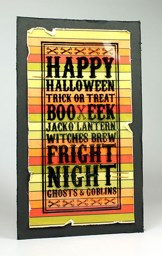 Courtney Kelley - Halloween Noteblock