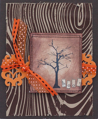 Anna - boo tree card