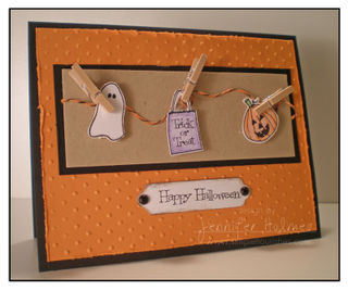 JenniferHolmes - Halloween Clothes line card