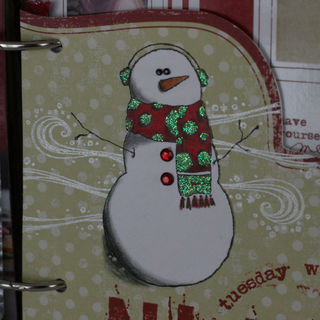 Jenn B - Day 9 - Snowman
