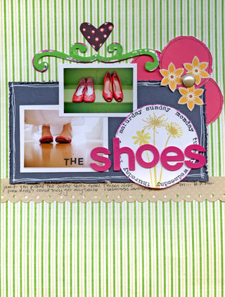 Aimee - the shoes layout