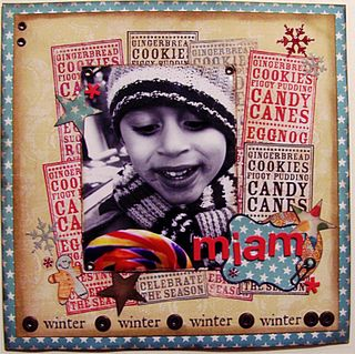 Nathalie - Celebrate The Season layout