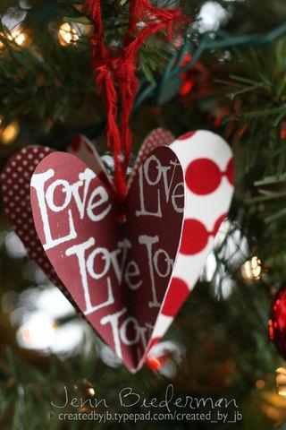 Jenn B - Love Ornament