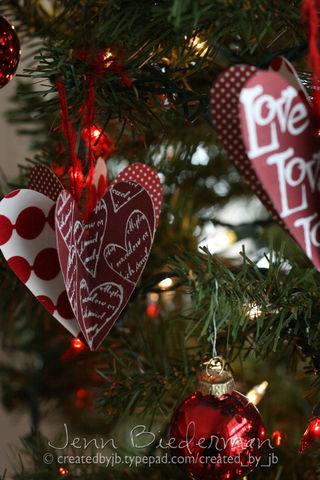 Jenn B - Heart Ornaments
