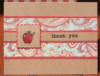 Teacher Thank You - Paisley