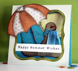 Jenn B - Happy Summer Wishes Snowman