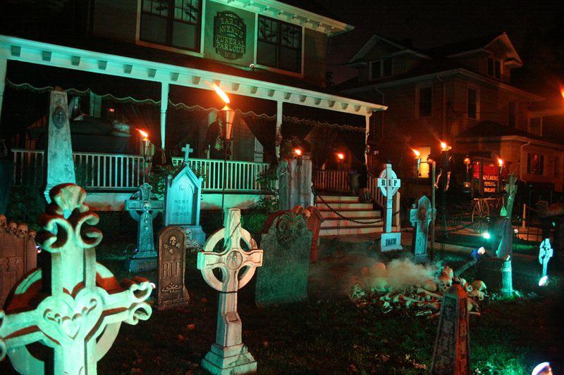 Halloween Corner 2008 - webpage