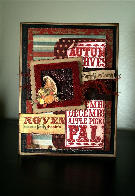 Fall Noteblock Card