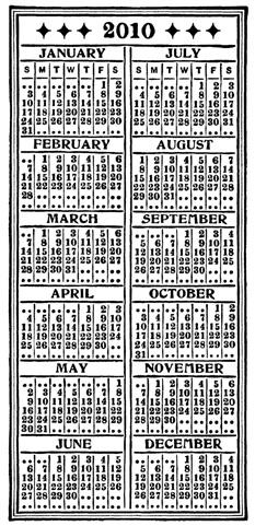 2010 Calendar - web