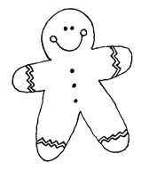 Gingerbread man - blog