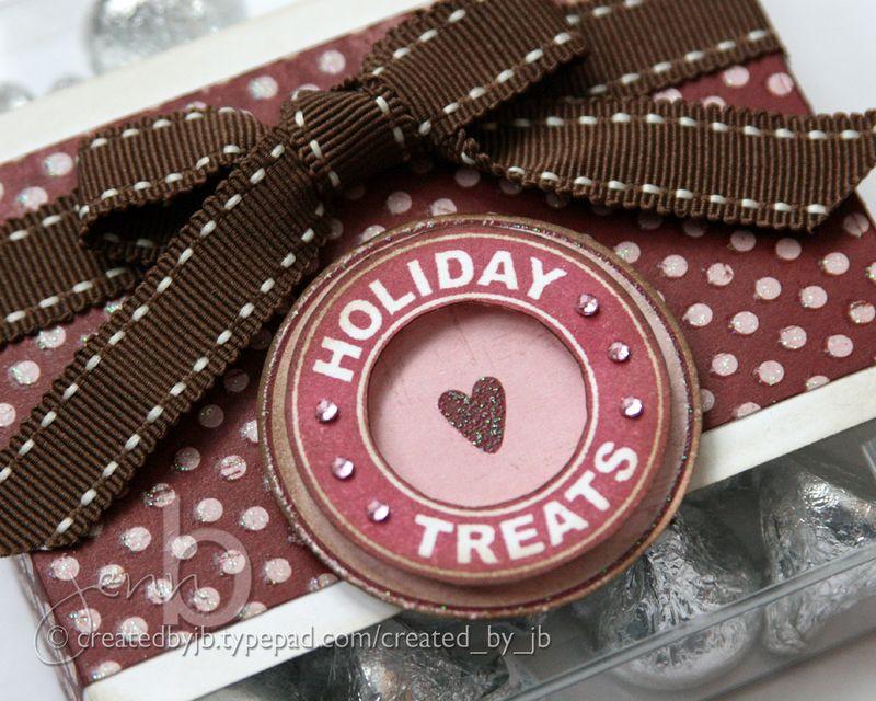 Jenn B - Valentine Candy Box - detail