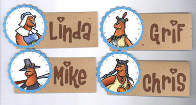 Linda - Place Cards