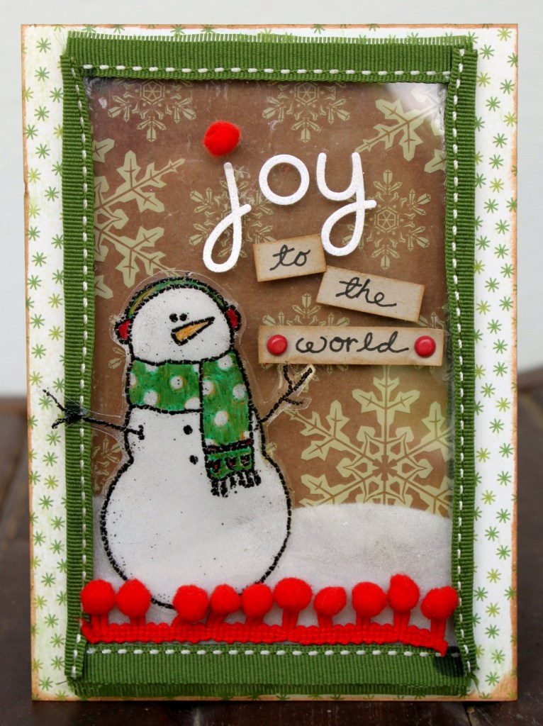 Sharon - Joy to the World Card