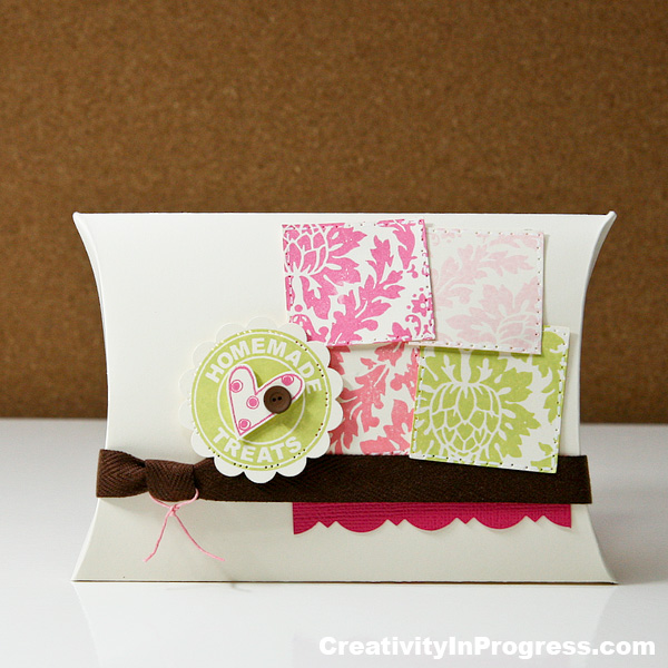 Sunghee Chon - Homemade Treats Pillow Box