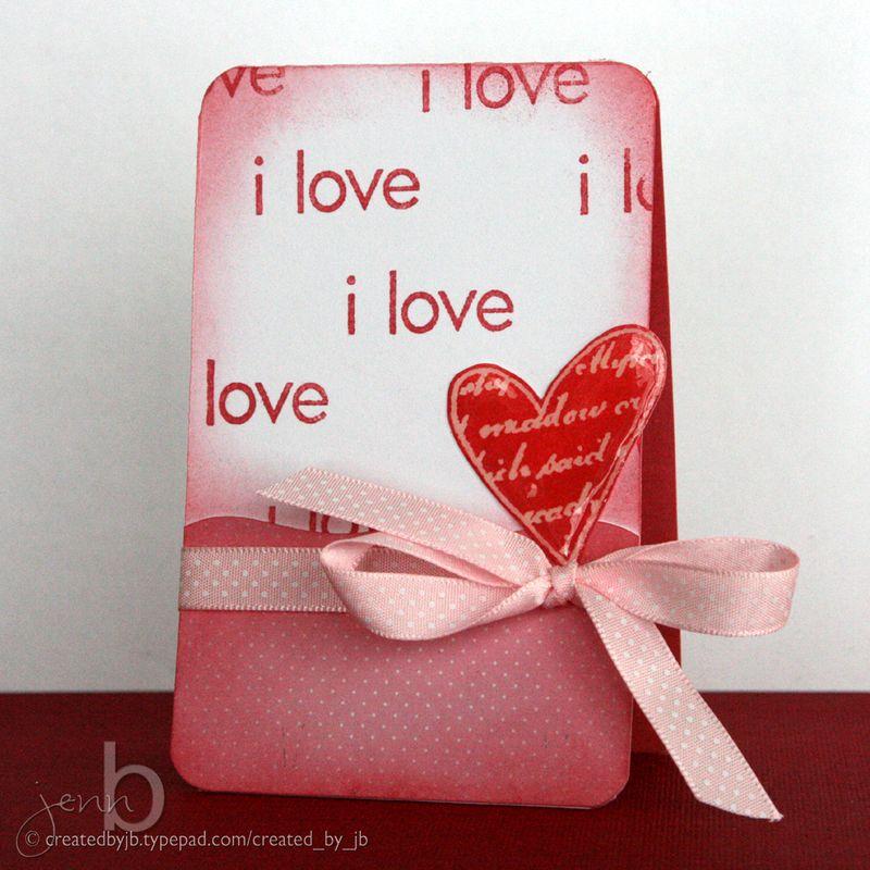JennB - Valentine Card