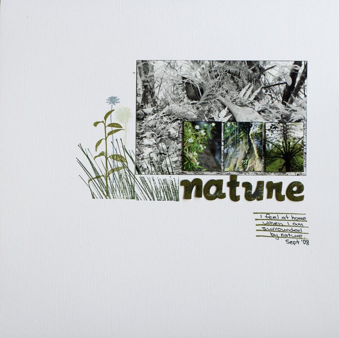 Lesley Cooper - Nature Layout