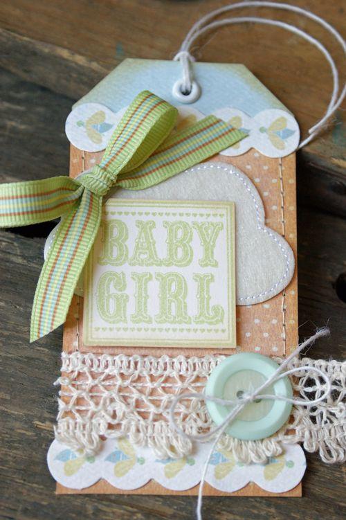 Hilary Kanwischer - Baby Gift Tag