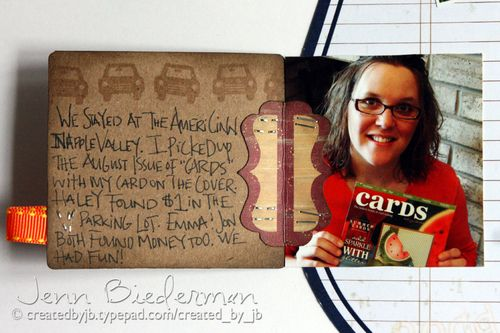Jenn Biederman - Vacation Journaling Detail