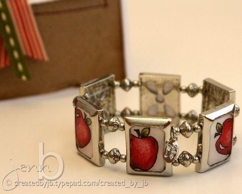 Jenn B - Apple Bracelet
