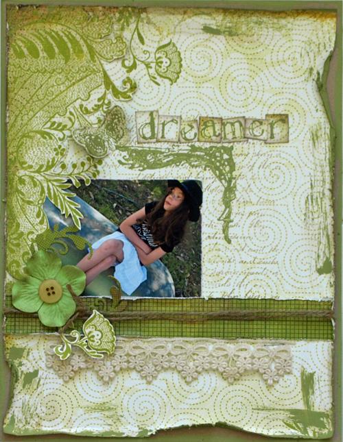 Julie Dudley - Dreamer Layout