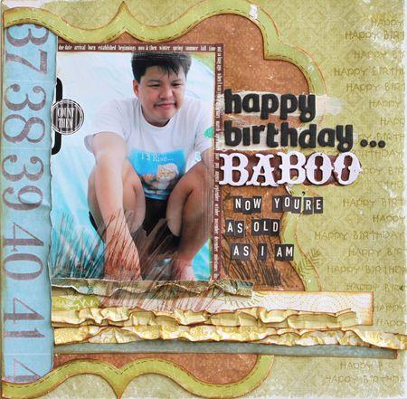 Sharon Ong - happy birthday baboo