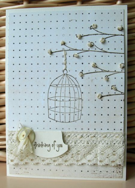 Julie dudley - thinking of you card