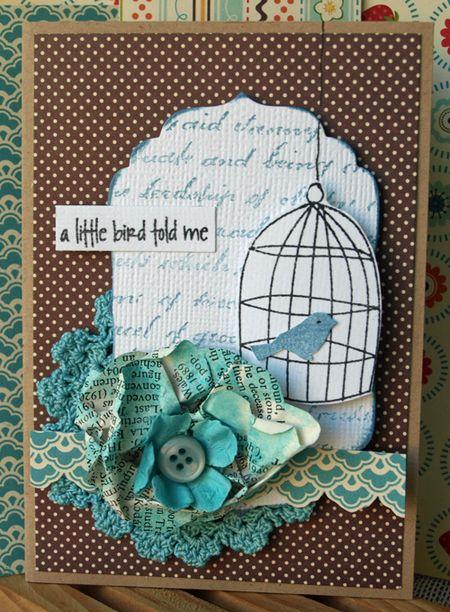 Julie Dudley - A Little Bird Told Me