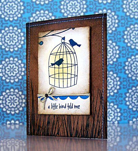 Jill Foster- A Little Bird Told Me