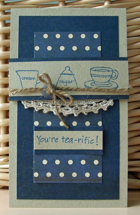 Julie Dudley - You're Tea-riffic