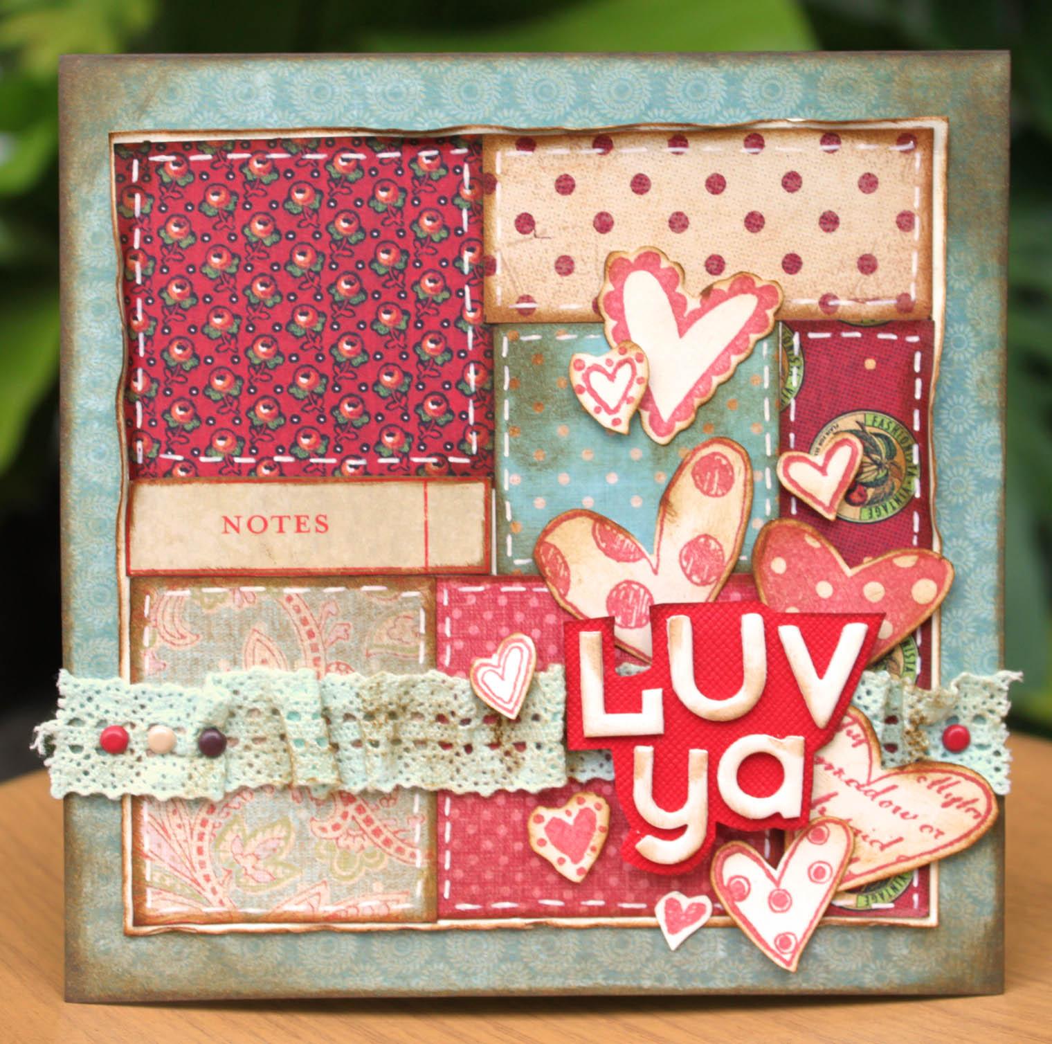 Sharon Ong - Luv Ya Card