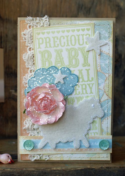 Hilary Kanwischer - Baby Card