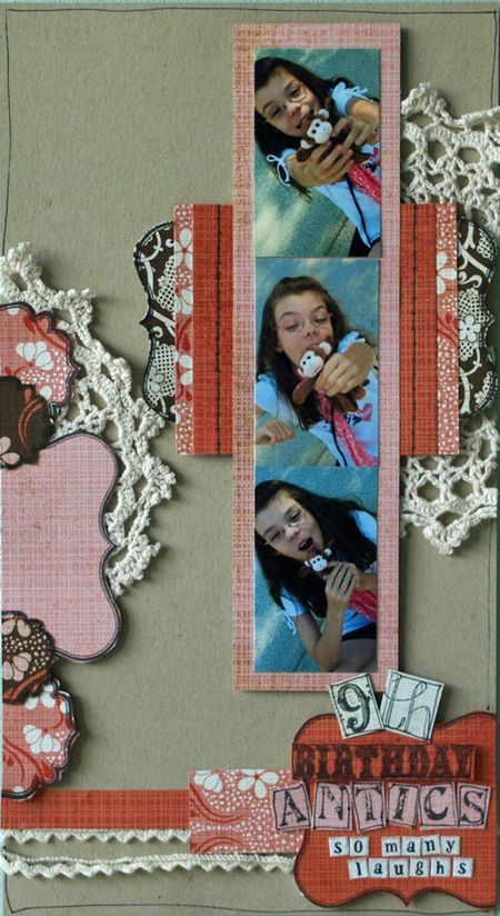 Julie Dudley - 9th Birthday Antics