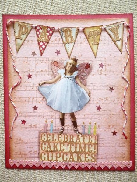 Debbie Kaste - Party Birthday Card