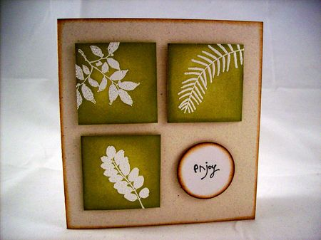 Joy Taylor - Enjoy Leaf Set Card