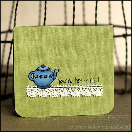 Courtney Kelley - You're Tea-rific