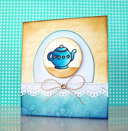 Jill Foster - Blue Teapot
