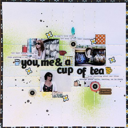 Ronda Palazarri - You, me and a cup of tea