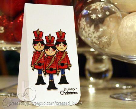Jenn Biederman - Nutcracker Card