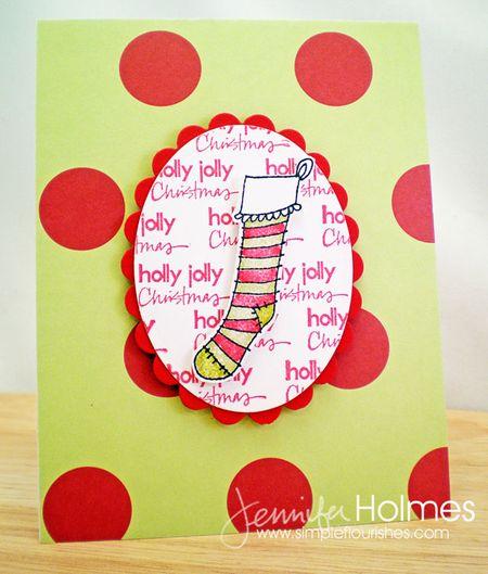Jennifer Holmes - Stocking