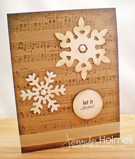 Jennifer Holmes - Let It Snow