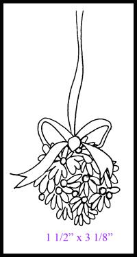 Mistletoe ball - web
