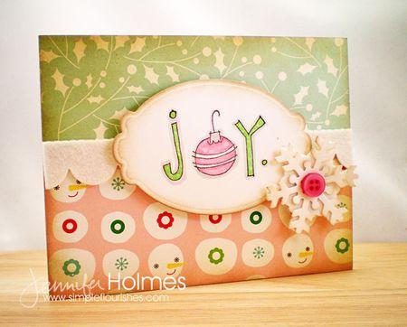 Jennifer Holmes - Joy Card