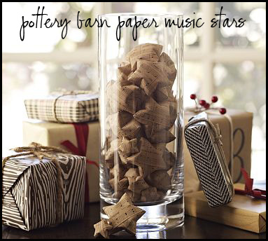 Pottery Barn Music Stars