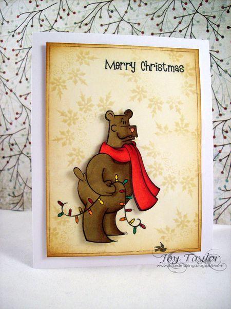 Joy Taylor - Santa Bear