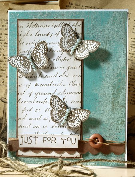 Julie Dudley - Just For You - Sketches2Scrapbook