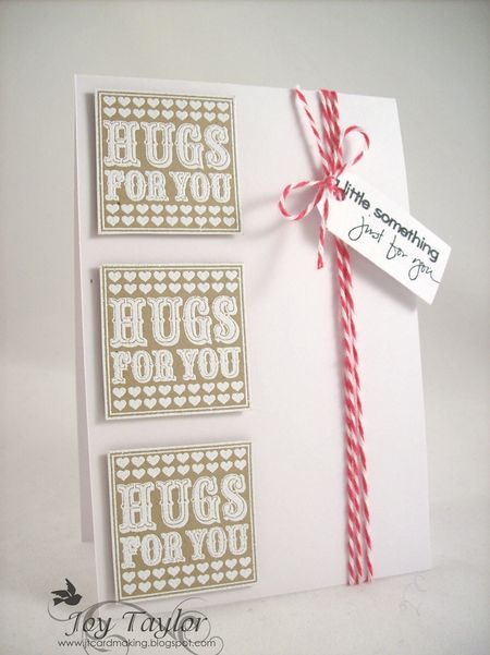Joy Taylor - Hugs to You Card