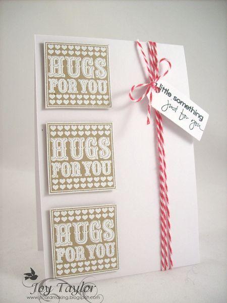 Joy Taylor - Hugs to You Card