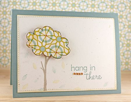 Carly Robertson - Hang In There Card