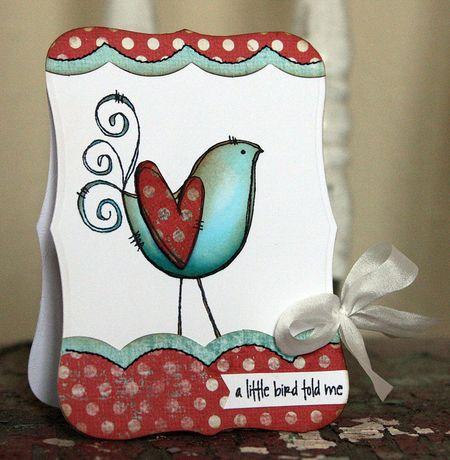 Jenn Biederman - Curly Bird Told Me