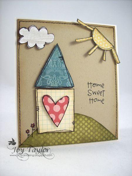 Joy Taylor - Home Sweet Home Card